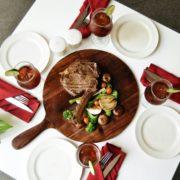 Tomahawk Steak Ramaikan Hari Kemerdekaan di Saffron Restaurant