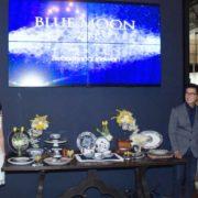 """Tableware """" BLUE MOON"""" Hasil Kolaborasi ZEN dan Desainer Sebastian Gunawan"""