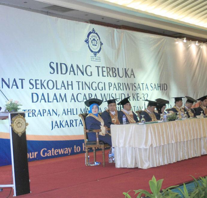 Wisuda STP Sahid, Lulusannya Terserap Pasar Dalam dan Luar Negeri