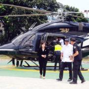Kini Naik Helikopter Menjadi Mudah